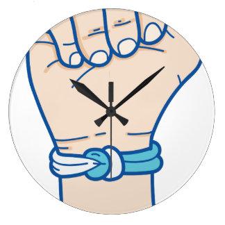 Krebsmänner bracelet-01 große wanduhr