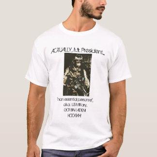 Kredit, wo Kredit passend ist! T-Shirt