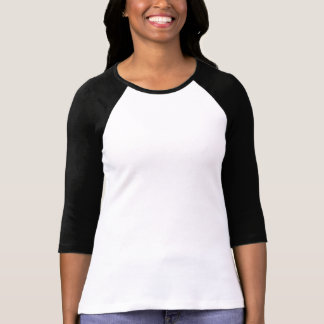 Kreiere Dein eigenes Damen 3/4 Ärmel Raglan Shirt