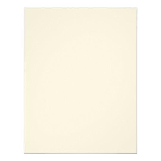 Ecru-Filz 10,8 cm x 13,9 cm, weiße Briefumschläge inklusive
