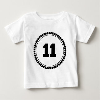 Kreis der Nr.-11 Baby T-shirt