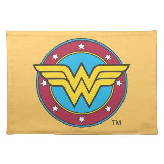 Kreis der Wunder-Frauen-| u. Stern-Logo Tischset
