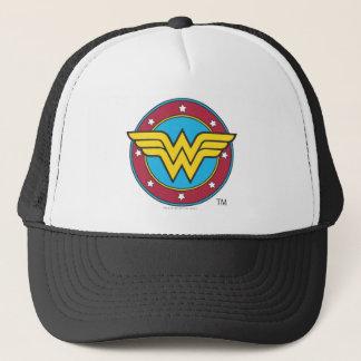 Kreis der Wunder-Frauen-| u. Stern-Logo Truckerkappe