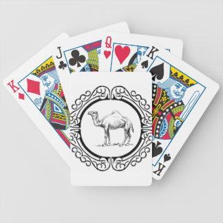 Kreis des Kamels Bicycle Spielkarten