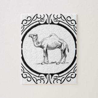 Kreis des Kamels Puzzle