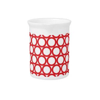 Kreis-Digital-Kunst-schöne Entwurfs-Art-Mode Getränke Pitcher