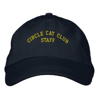 Kreis-Katzen-Verein-Personal-Kappe Bestickte Kappe