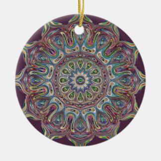 Kreis-Keramik-VerzierungMandala Keramik Ornament