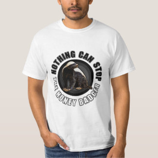 Kreis - nichts kann den Honig-Dachs stoppen Hemden