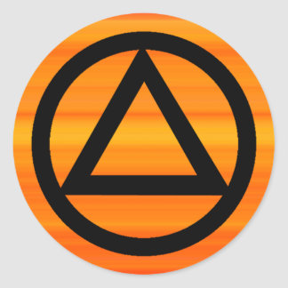 Kreis-und Runde Sticker