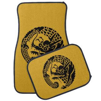 Kreis von Nichiren Abschnitt-Drachen Autofußmatte