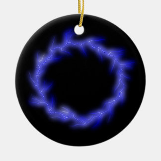 Kreisblitz Rundes Keramik Ornament