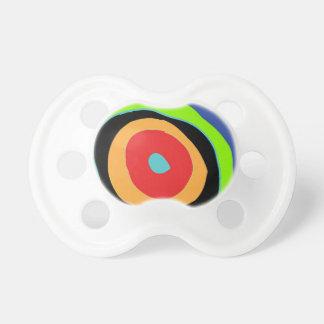 Kreise des Farbentwurfs Schnuller