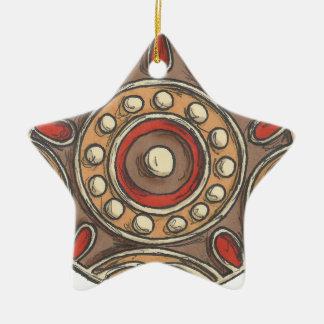 Kreise Keramik Ornament