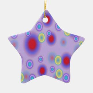Kreise Keramik Stern-Ornament