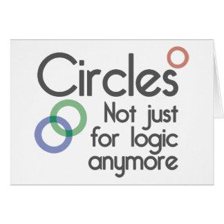 Kreise. Nicht gerade für Logik mehr Karte