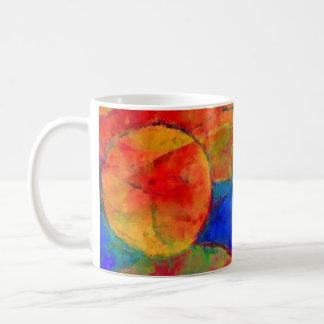 Kreise und Rundungen Kaffeetasse