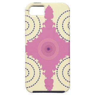 Kreisentwurfs-Motiv-Schablone für Etui Fürs iPhone 5