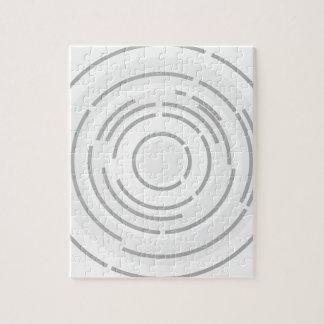 Kreisförmiger abstrakter Hintergrund Puzzle