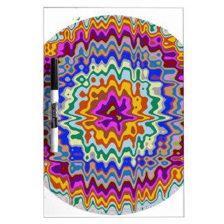 Kreisregenbogenwellen Memoboard