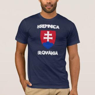 Kremnica, Slowakei mit Wappen T-Shirt