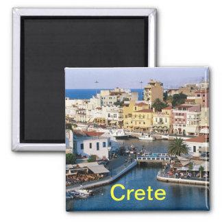 Kreta-Magnet Quadratischer Magnet