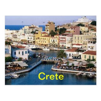 Kreta-Postkarte Postkarte