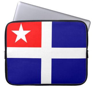 Kreta-Regionsflaggen-Griechenland-Symbol Laptopschutzhülle