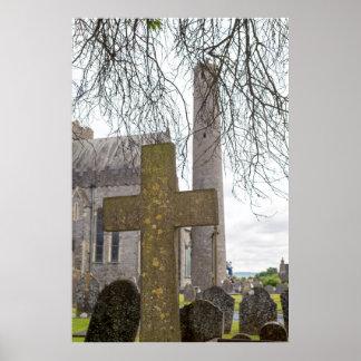 Kreuz am alten Friedhof Poster