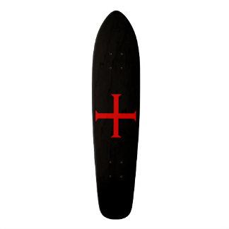 Kreuz der Ritter Templar Individuelle Skateboarddecks