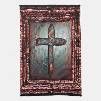 Kreuz des Bluts Geschirrtuch