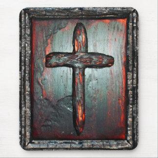 Kreuz des Bluts Mousepad