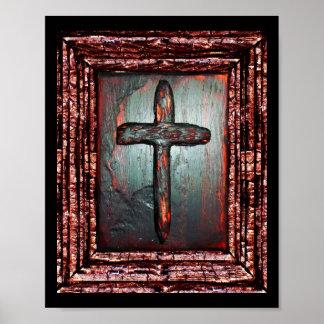 Kreuz des Bluts Poster