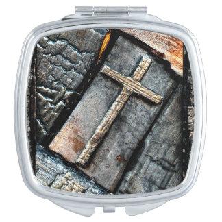 Kreuz des Schutzes Schminkspiegel