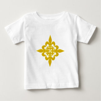 Kreuz Fleur de Lis cross Baby T-shirt
