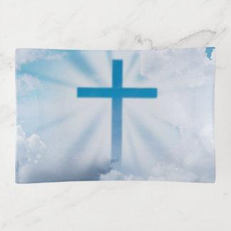 Kreuz im Himmel Dekoschale
