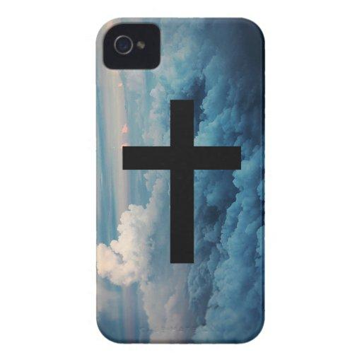 Kreuz im Himmel iPhone 4 Cover