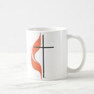 Kreuz und Flamme, ClearwaterUnited MethodistChurch Kaffeetasse