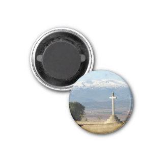 Kreuz-und Gebirgsmagnet Runder Magnet 3,2 Cm