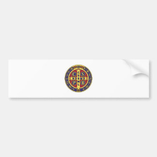 Kreuz von St Benedict Auto Aufkleber