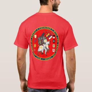 Kreuzfahrer auf dem März-Siegel-Shirt T-Shirt