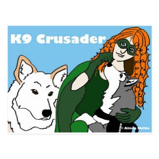 Kreuzfahrer K9 Postkarte