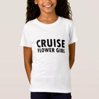 Kreuzfahrt-Blumen-Mädchen T-Shirt