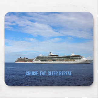 Kreuzfahrt der Kreuzschiff-essen karibische Mousepad