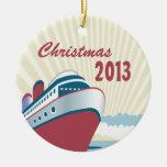 Kreuzfahrt-Erinnerungens-Weihnachtsverzierung Weihnachtsbaum Ornament