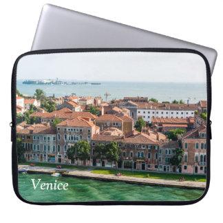Kreuzfahrt-Mittelmeerarchitektur Venedigs Italien Laptop Sleeve