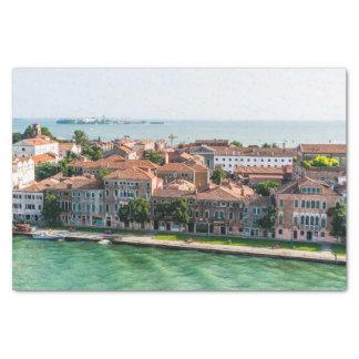 Kreuzfahrt-Mittelmeerarchitektur Venedigs Italien Seidenpapier