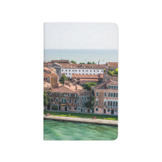 Kreuzfahrt-Mittelmeerarchitektur Venedigs Italien Taschennotizbuch