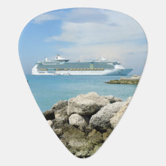 Kreuzfahrt-Schiff an CocoCay Plektrum