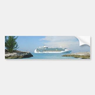 Kreuzfahrt-Schiff CocoCay Autoaufkleber